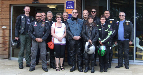 Group photo of some CMA Suffolk members in Ipswich